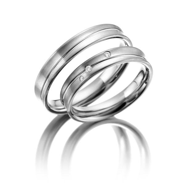 Snubní Titanové prsteny JT020