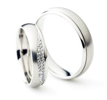 Snubní prsteny chirurgická ocel OC1102