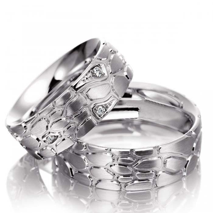 Snubní prsteny z chirurgické oceli OC1106