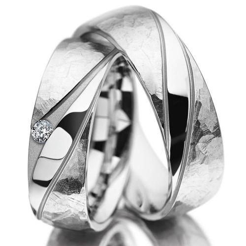 Snubní prsteny z chirurgické oceli OC1108