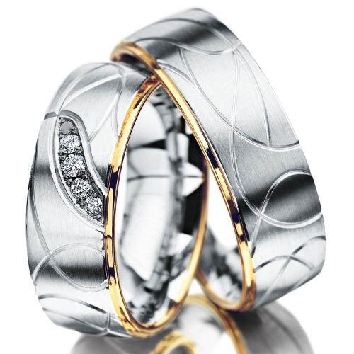 Snubní prsteny z chirurgické oceli OC1110