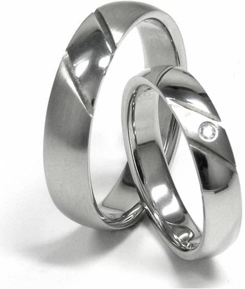 Snubní prstýnky SRZ4006 (Doprava a Dárkové balení Zdrama)
