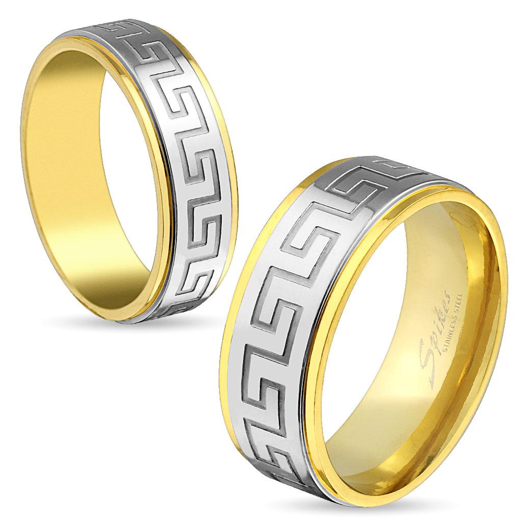 Snubní prsteny chirurgická ocel R-M3923 (Dárkové balení zdarma)