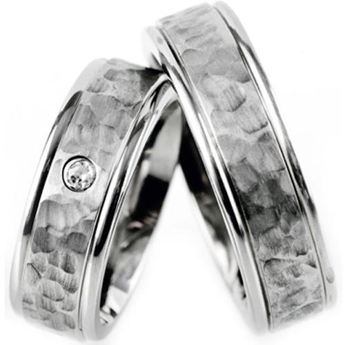 Wolframové snubní prsteny R-TU-202