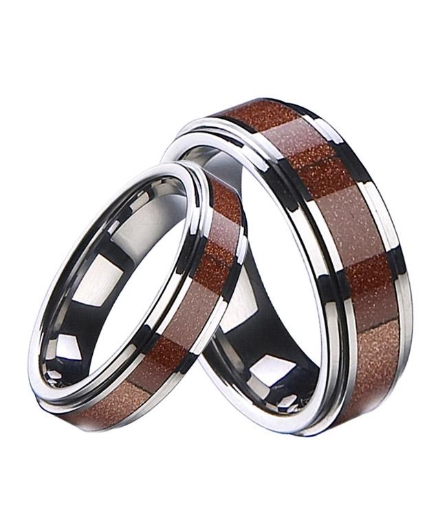 Wolframové snubní prsteny R-TU-206