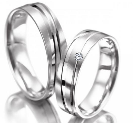 Snubní prsteny z chirurgické oceli OC1121