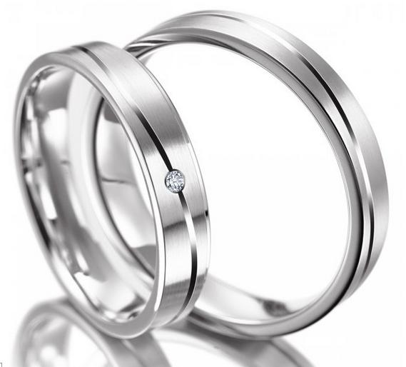 Snubní prsteny z chirurgické oceli OC1122