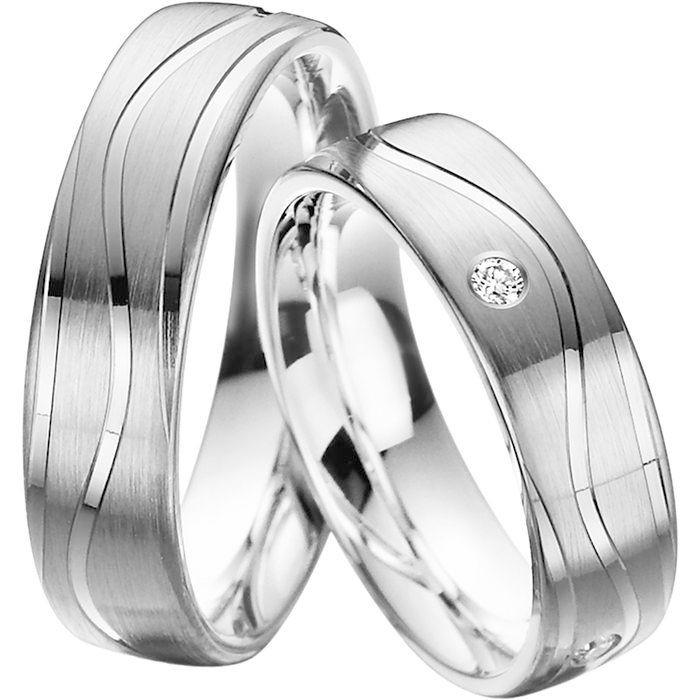 Snubní prsteny z chirurgické oceli OC1125