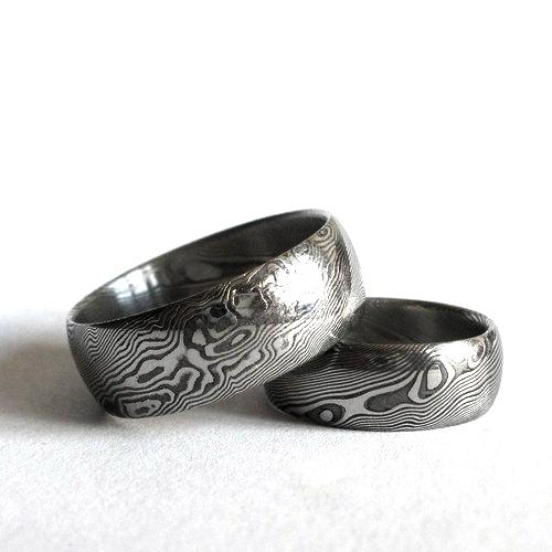 Snubní prsteny damasteel DA-1019