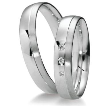 Snubní prsteny z oceli OC1129