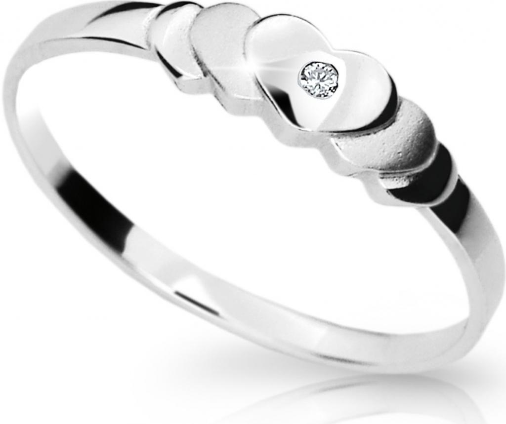 Briliantový prsten Danfil DF1876 (Rytí zdarma)