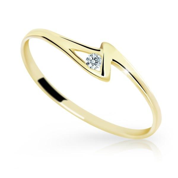Briliantový prsten Danfil DF1138-1 (Rytí zdarma)