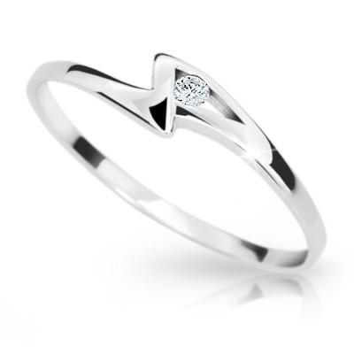 Briliantový prsten Danfil DF1138 (Rytí zdarma)