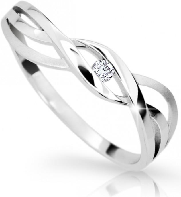 Briliantový prsten Danfil DF1843 (Rytí zdarma)