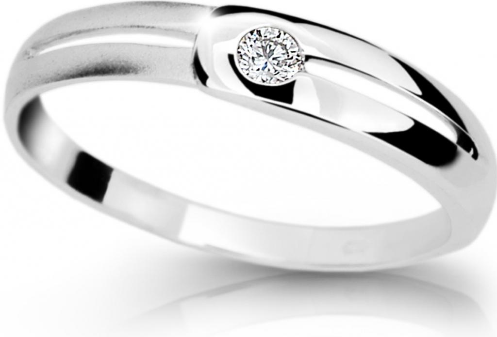 Diamantový prsten DF1049 (Rytí zdarma)