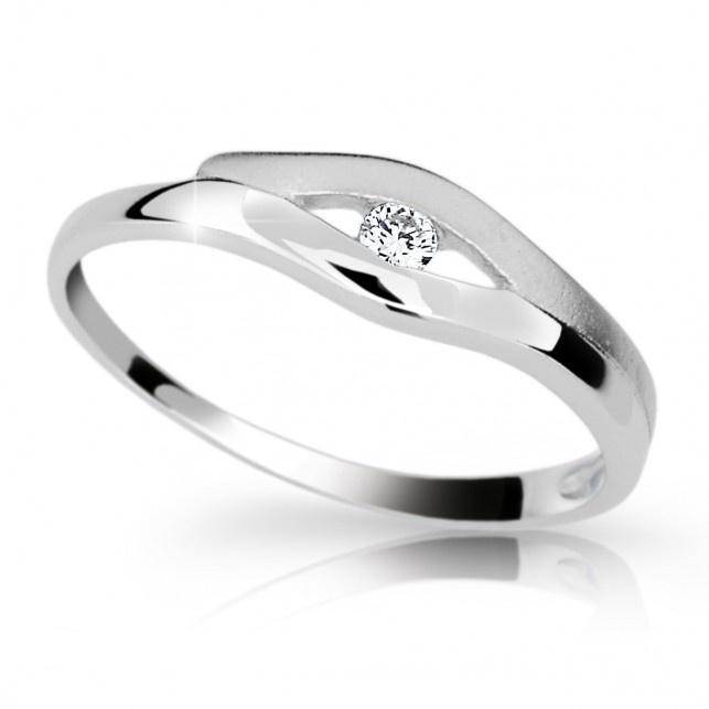 Briliantový prsten Danfil DF1745 (Rytí zdarma)
