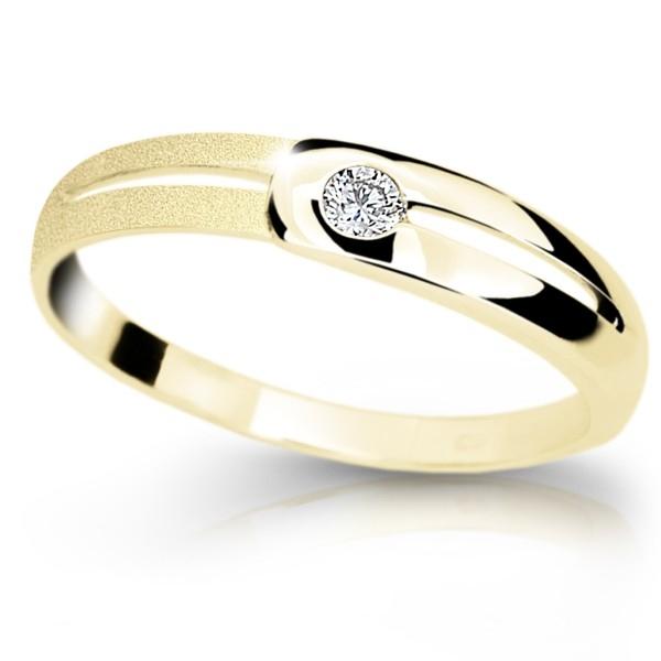 Zlaty Prsten Df 1049 Ze Zluteho Zlata