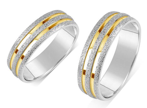 Snubní prsteny chirurgická ocel RRC22700