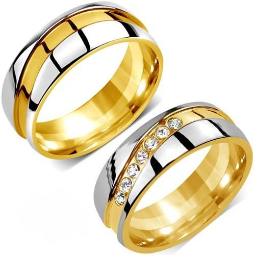 Snubní prsteny chirurgická ocel RRC2050