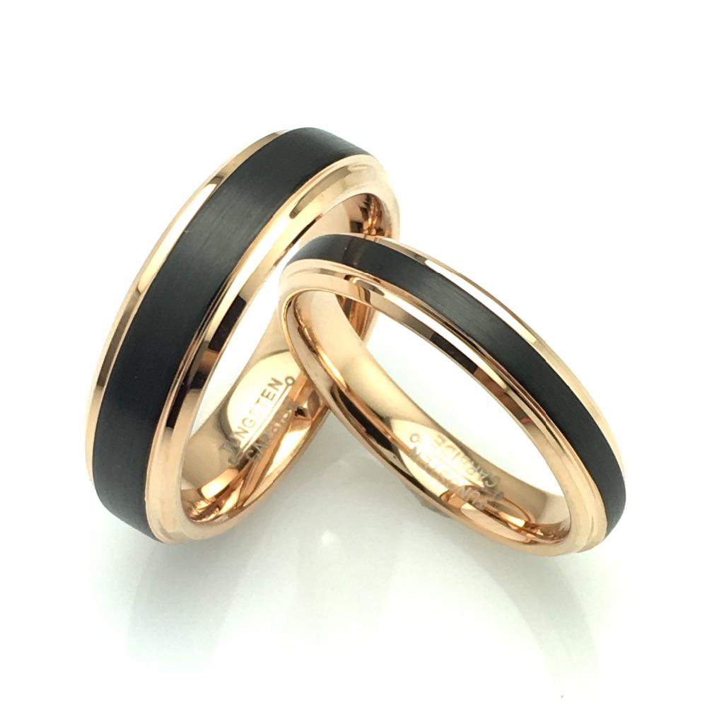 Luxusní wolframové prsteny WRY-444