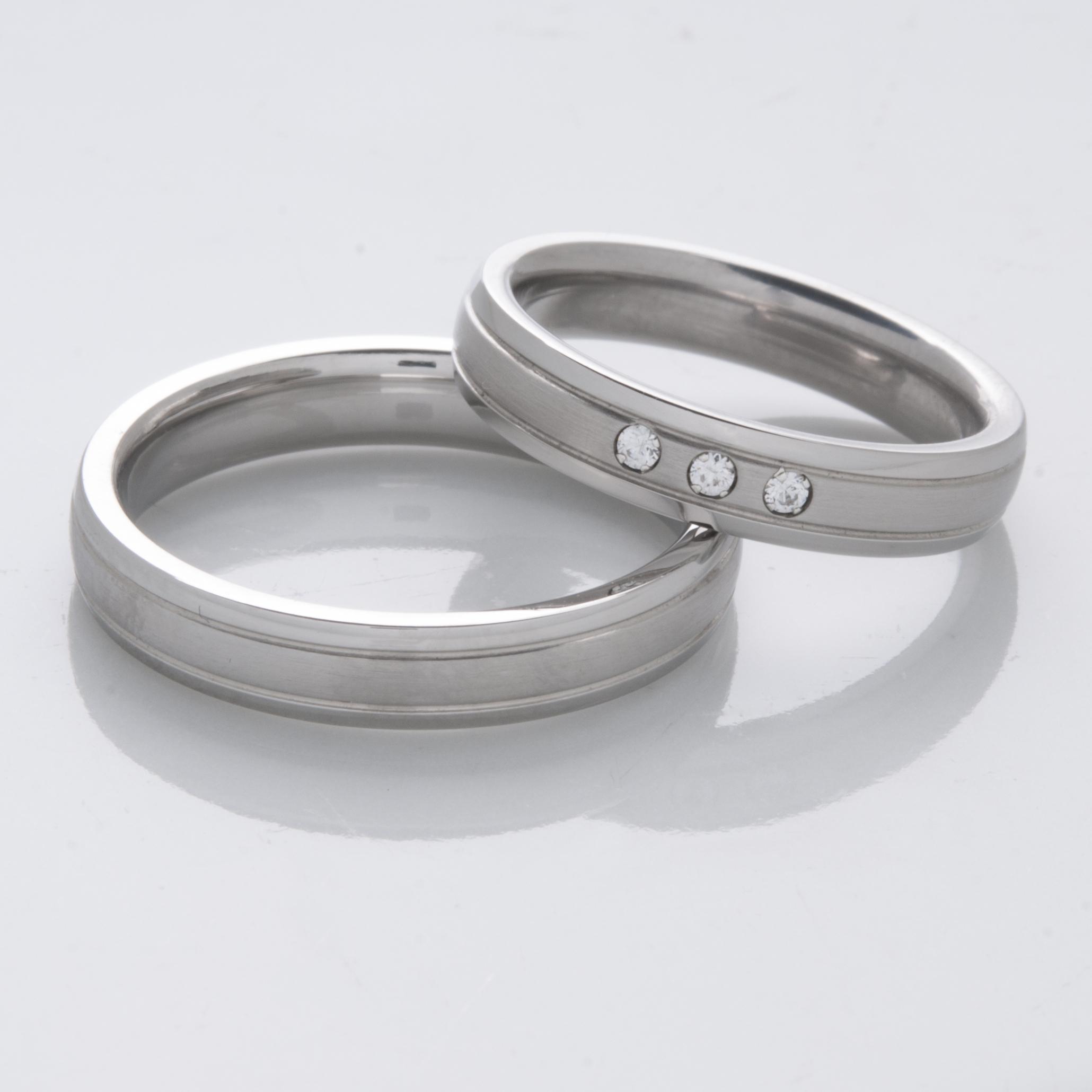 Snubní Titanové prsteny JT003