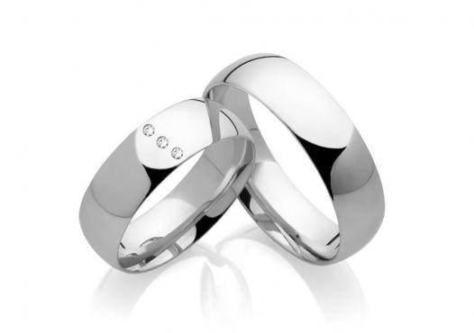 Snubní prsteny z chirurgické oceli OC1133