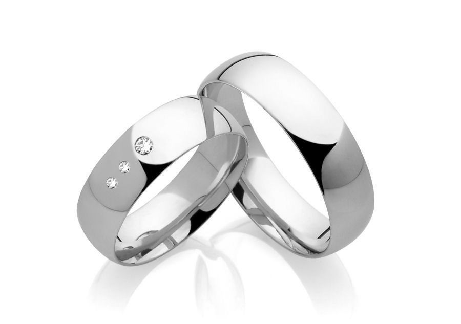 Snubní prsteny z chirurgické oceli OC1140