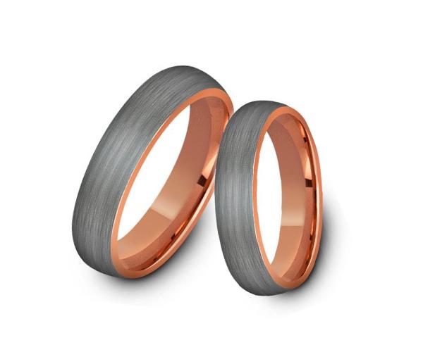 Wolframové snubní prsteny R-TU-125