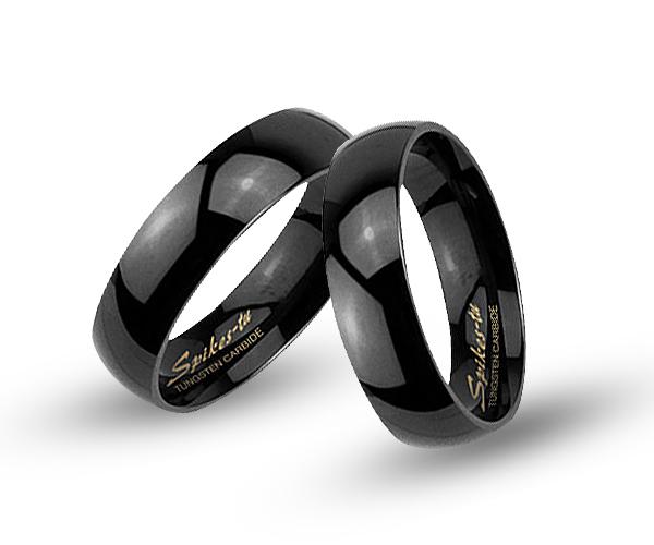 Wolframové snubní prsteny R-TUF-005
