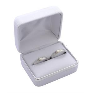 Sametová dárková krabička na snubní prsteny CD-3/A1/AG