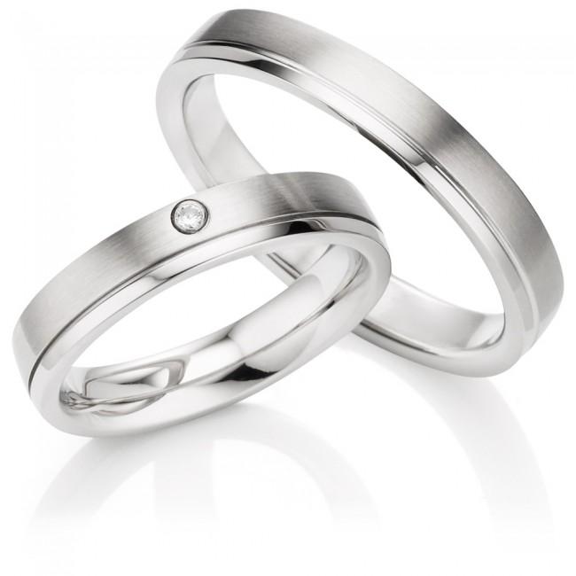 Snubní prsteny z chirurgické oceli OC1142