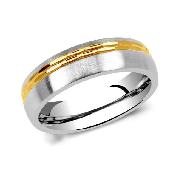 Snubní prsteny chirurgická ocel RC2129