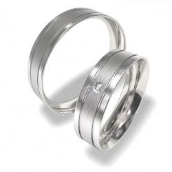 Svatební prsteny z chirurgické oceli 0140202143 (Ocelový snubní prsteny 0140202143)