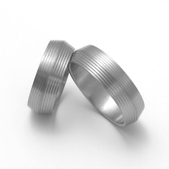 Snubní Titanové prsteny ZERO Collection TTN1701+TTN1701 (Snubní Titanové prsteny ZERO Collection TTN1701+TTN1701)
