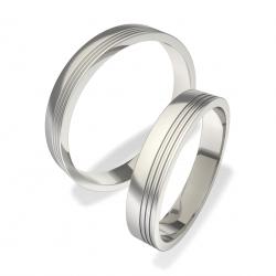 Snubní prsteny z chirurgické oceli 01402001112 (Snubní prsteny 01402001112)