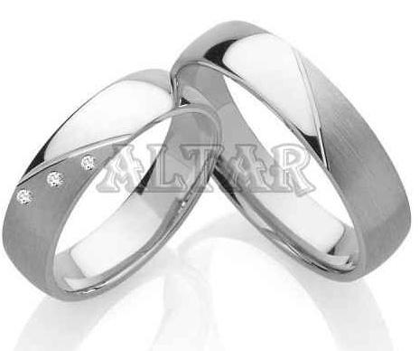 Snubní prsteny s brilianty OC1090B (Snubní prsteny OC1090B)