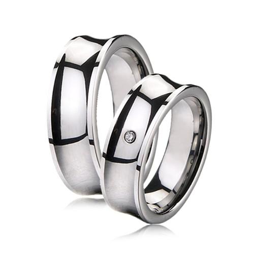 ... Snubní prsteny wolfram R-TU-107 fc11fcacc1